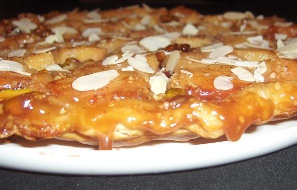 Tarte Tatin aux coings. Une délicieuse alternative aux pommes.