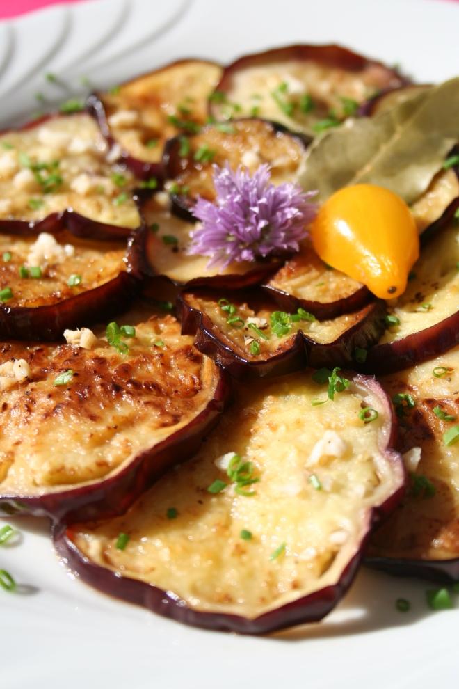 Aubergines marinées - Melanzane a la marinata - delimoon.com