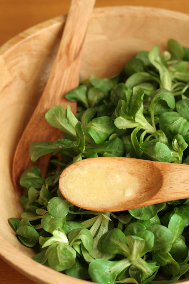 Salade de doucette ou mâche ou rampon - delimoon.com