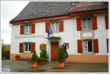 Hôtel de la Couronne à Beurnevésin