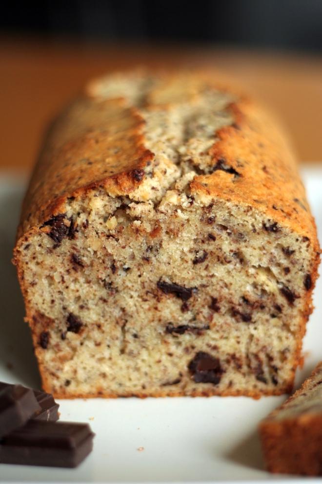 Cake tyrolien - noisettes et chocolat - delimoon.com