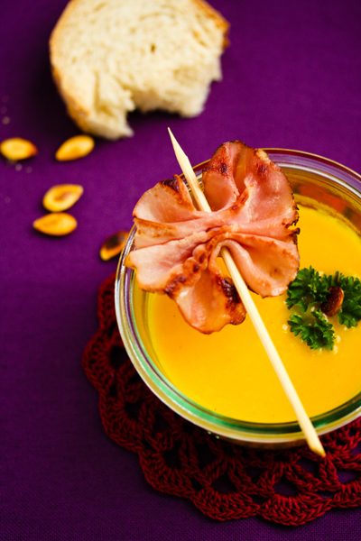 Soupe de courge au curry - delimoon.com