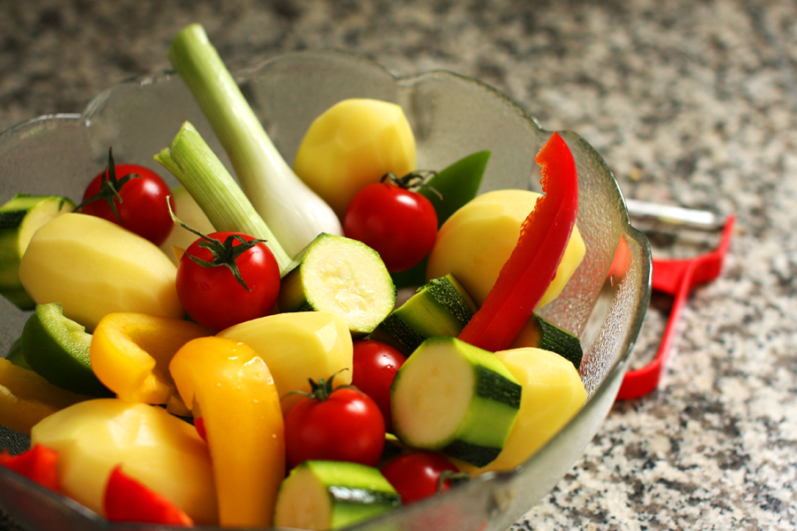 Poulet rôti aux légumes d'été - one pot - delimoon.com