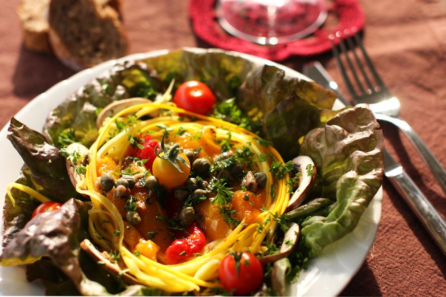 salade dété improvisée
