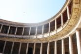 Le palais inachevé de Charles Quint (Alhambra)