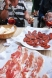 Tapas - chorizo et jambon cru