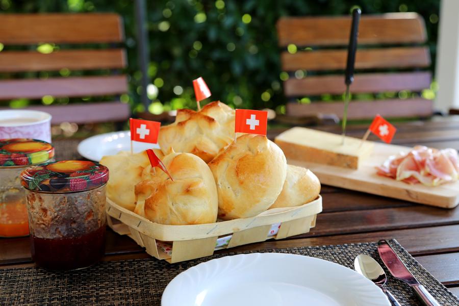 Petits pains du 1er août  - delimoon .com
