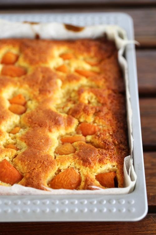 Gâteau aux abricots - moelleux et parfumé - Delimoon.com