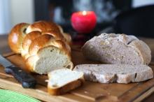 pain aux noix et tresse - le dimanche c'est brunch - delimoon.com