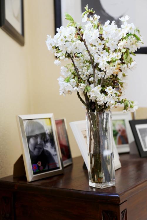 Bouquet de fleurs de cerisier - inspiration florale - delimoon.com