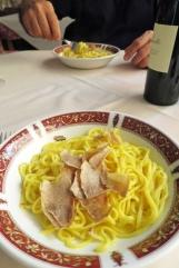 Tajarine au beurre et truffe blanche
