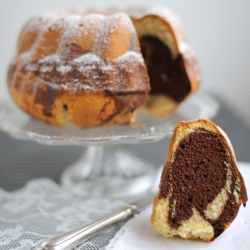 Kouglof marbré - le gâteau du dimanche - delimoon.com