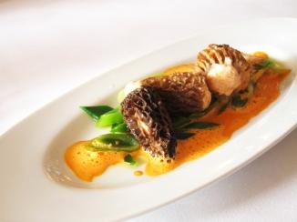 Morilles farcies au saumon