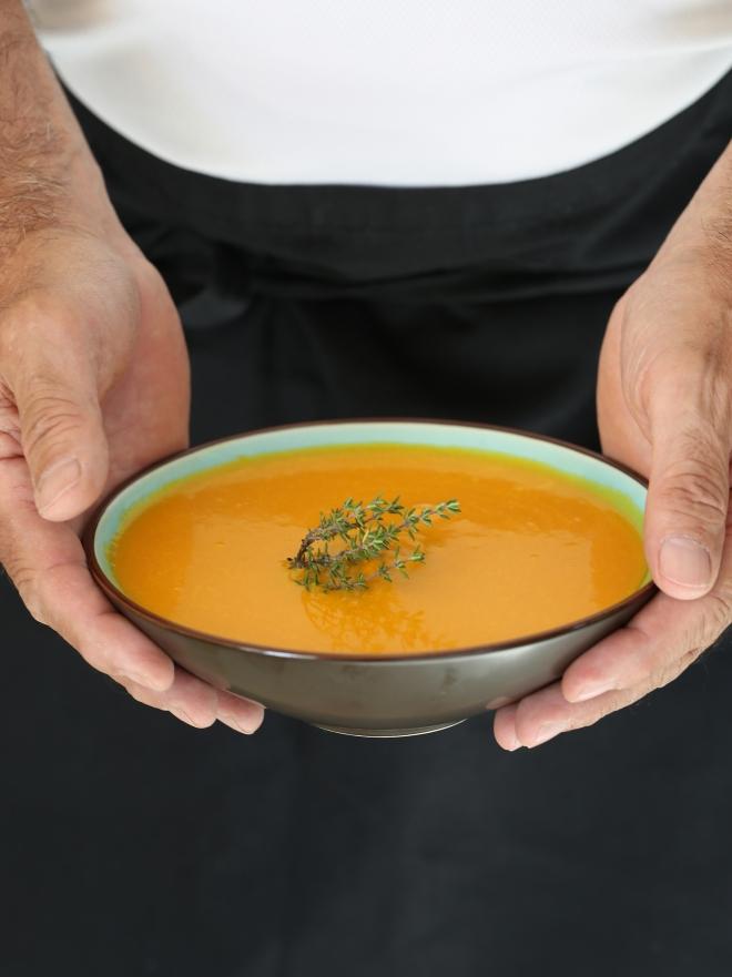 Soupe carotte courge - delimoon.com - les hommes préfèrent ...