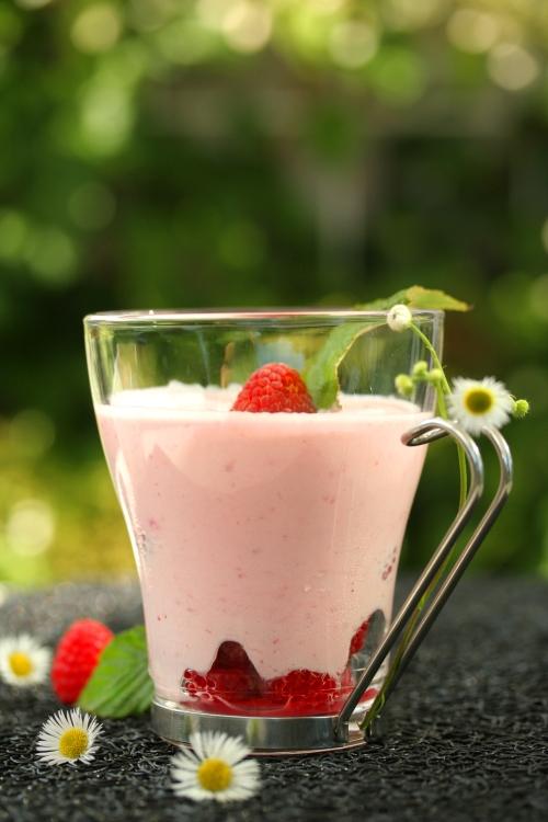 Crème aux framboises et mascarpone -delimoon.com