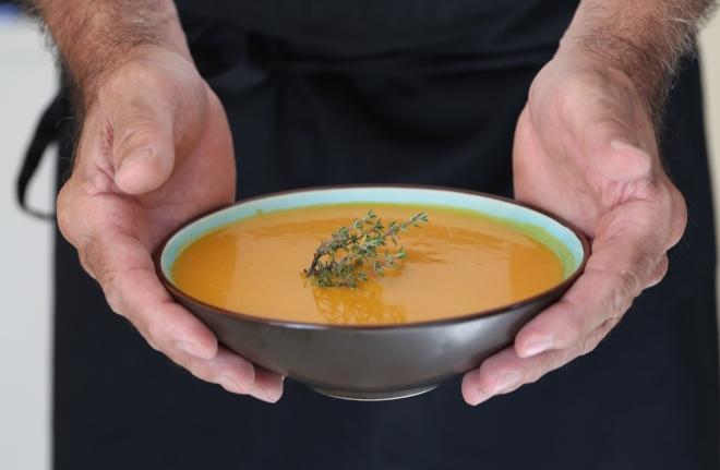 Soupe carottes et courge - delimoon.com