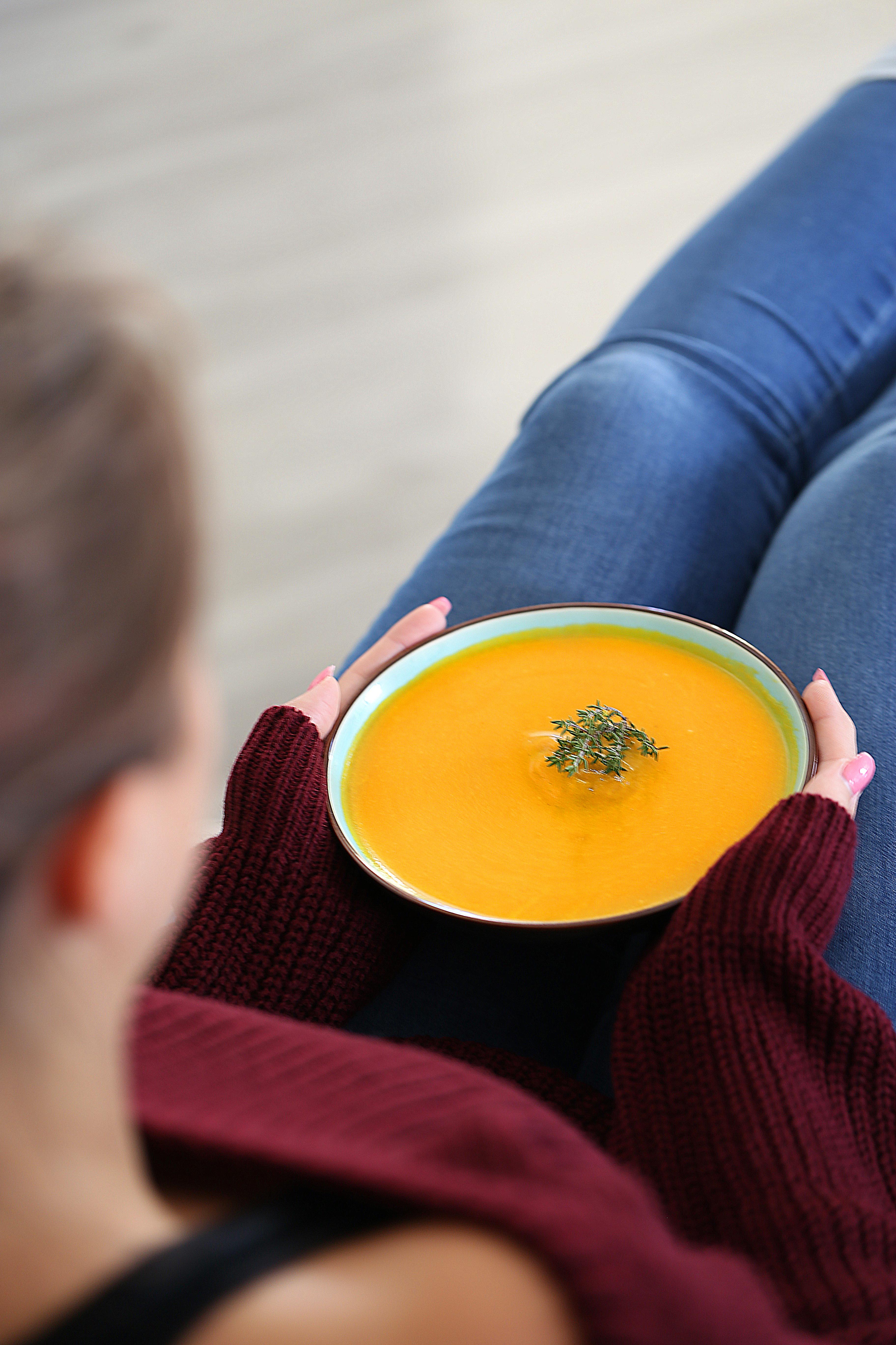 Soupe carotte - courge - delimoon.com