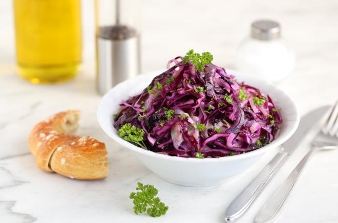 Salade tiède aux deux choux - delimoon.com