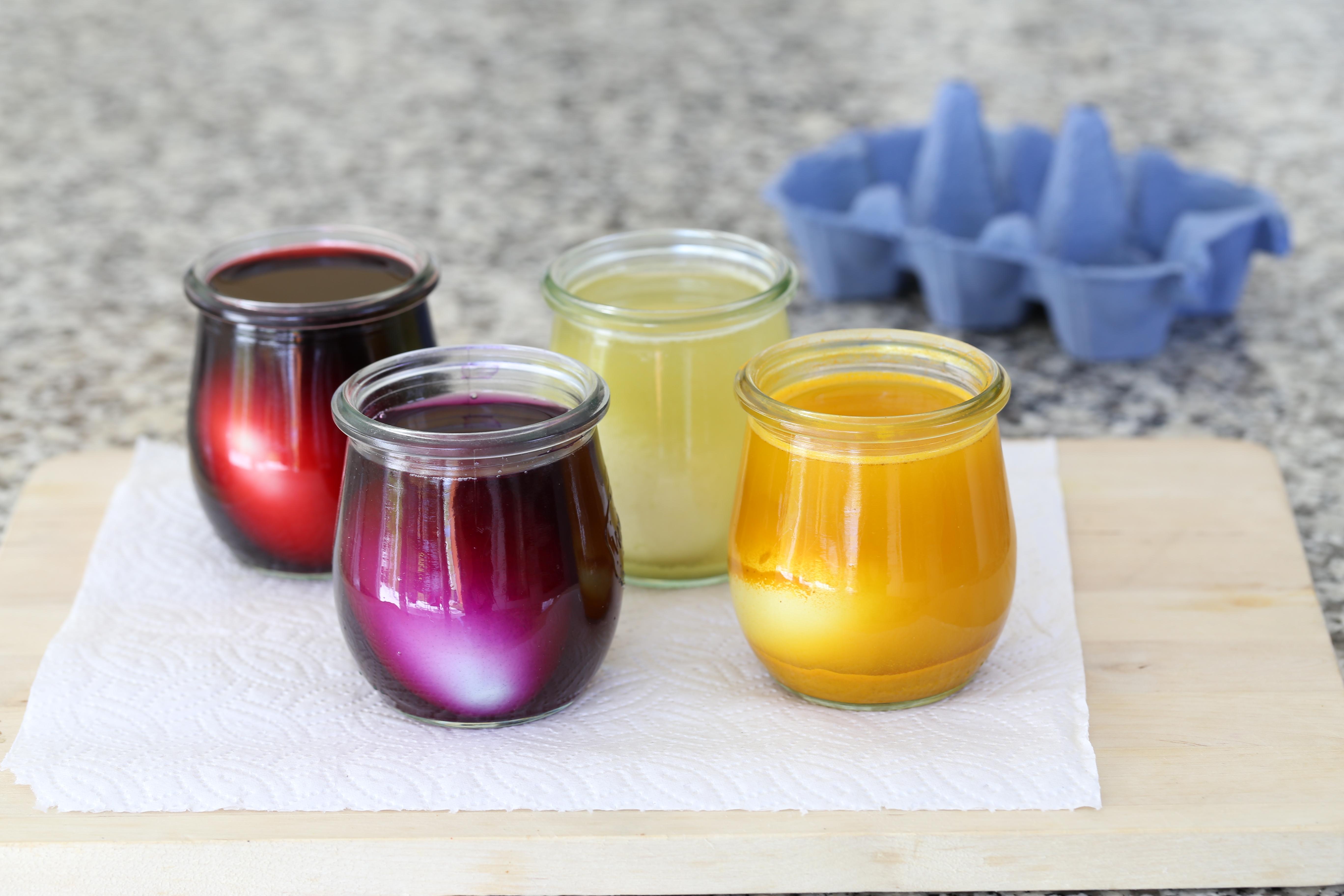 Oeufs de Pâques - colorants naturels - delimoon.com