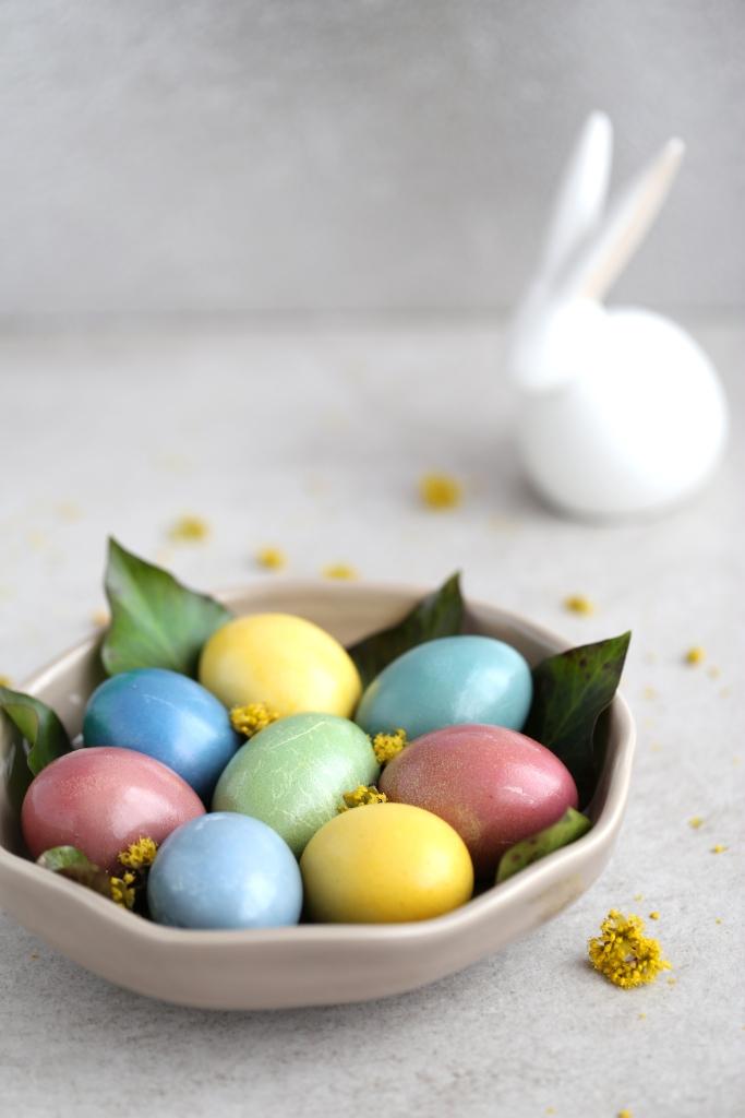 Oeufs de Pâques - colorants alimentaires naturels - delimoon.com