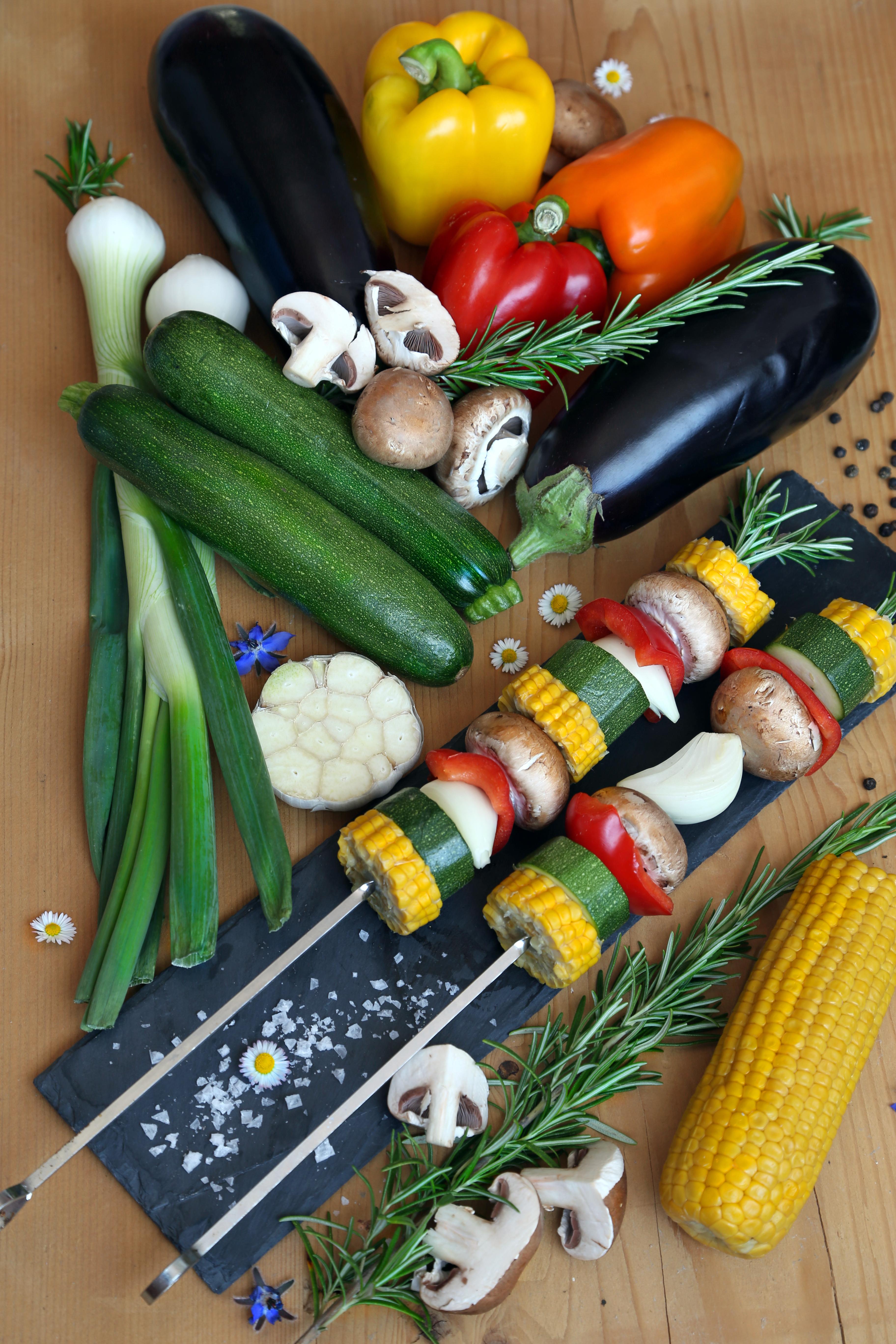 Légumes d'été pour barbecue - deli moon.com