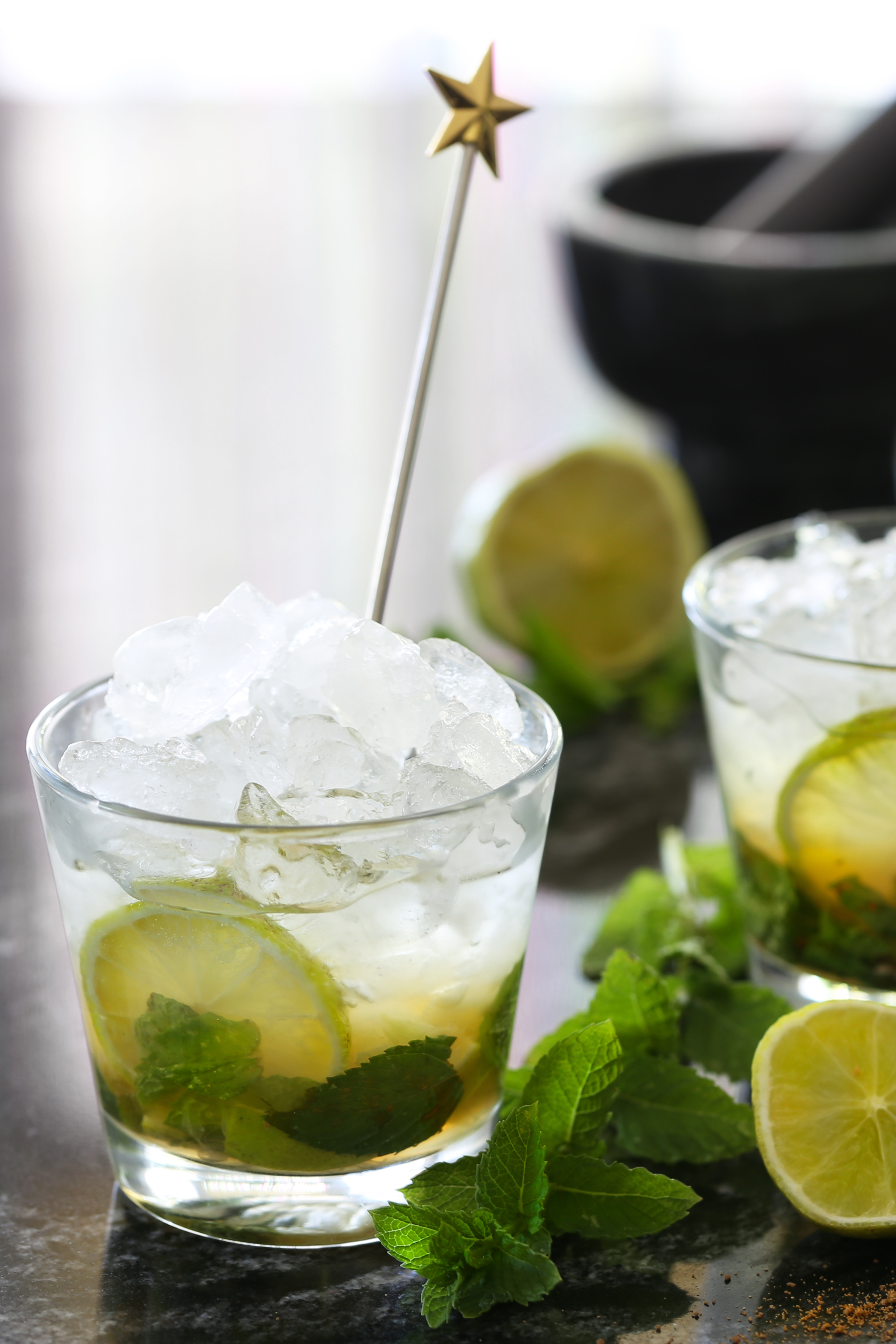 Recette de base du traditionnel Mojito - boisson nationale cubaine - delimoon.com