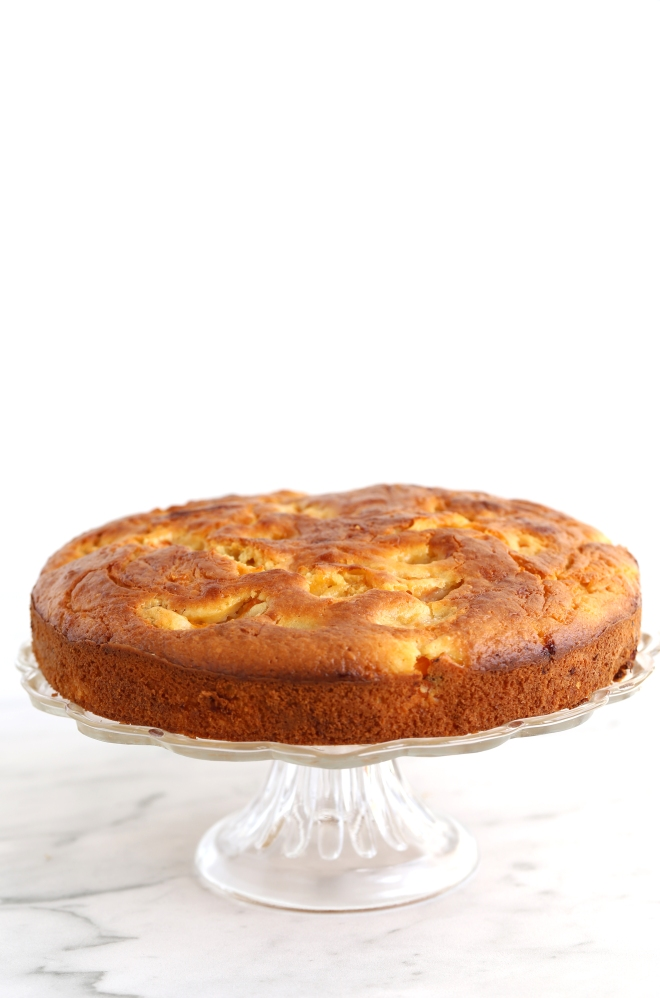 Gâteau aux abricots et à la crème acidulée - delimoon.com