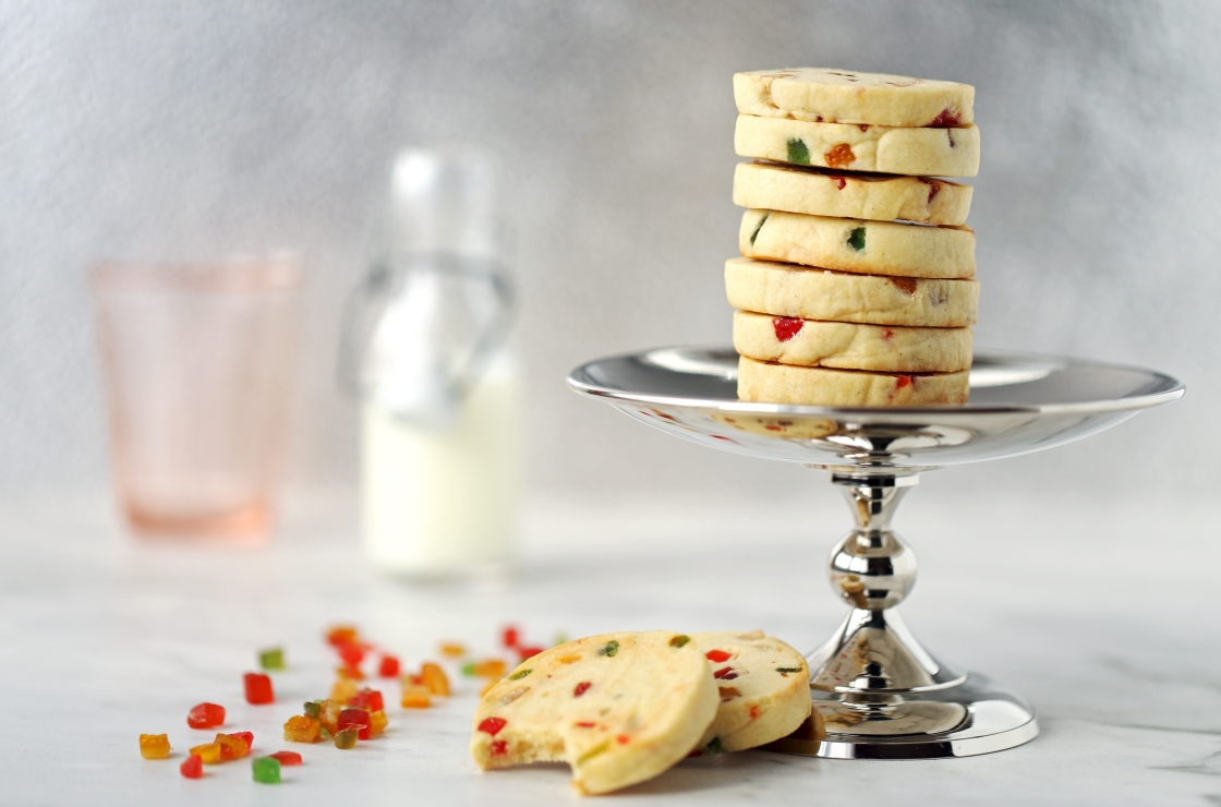 Arlecchini - biscuits sablés aux fruits confits - Delimoon.com