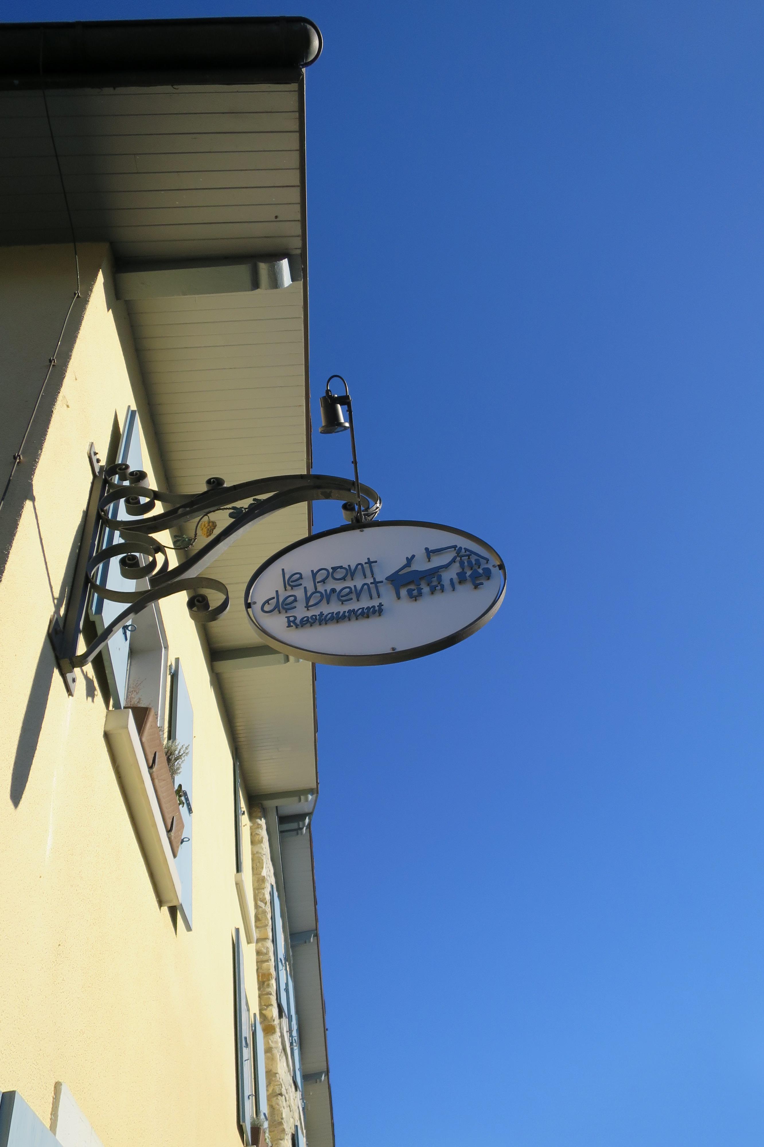 Restaurant Le Pont de Brent - delimoon.com