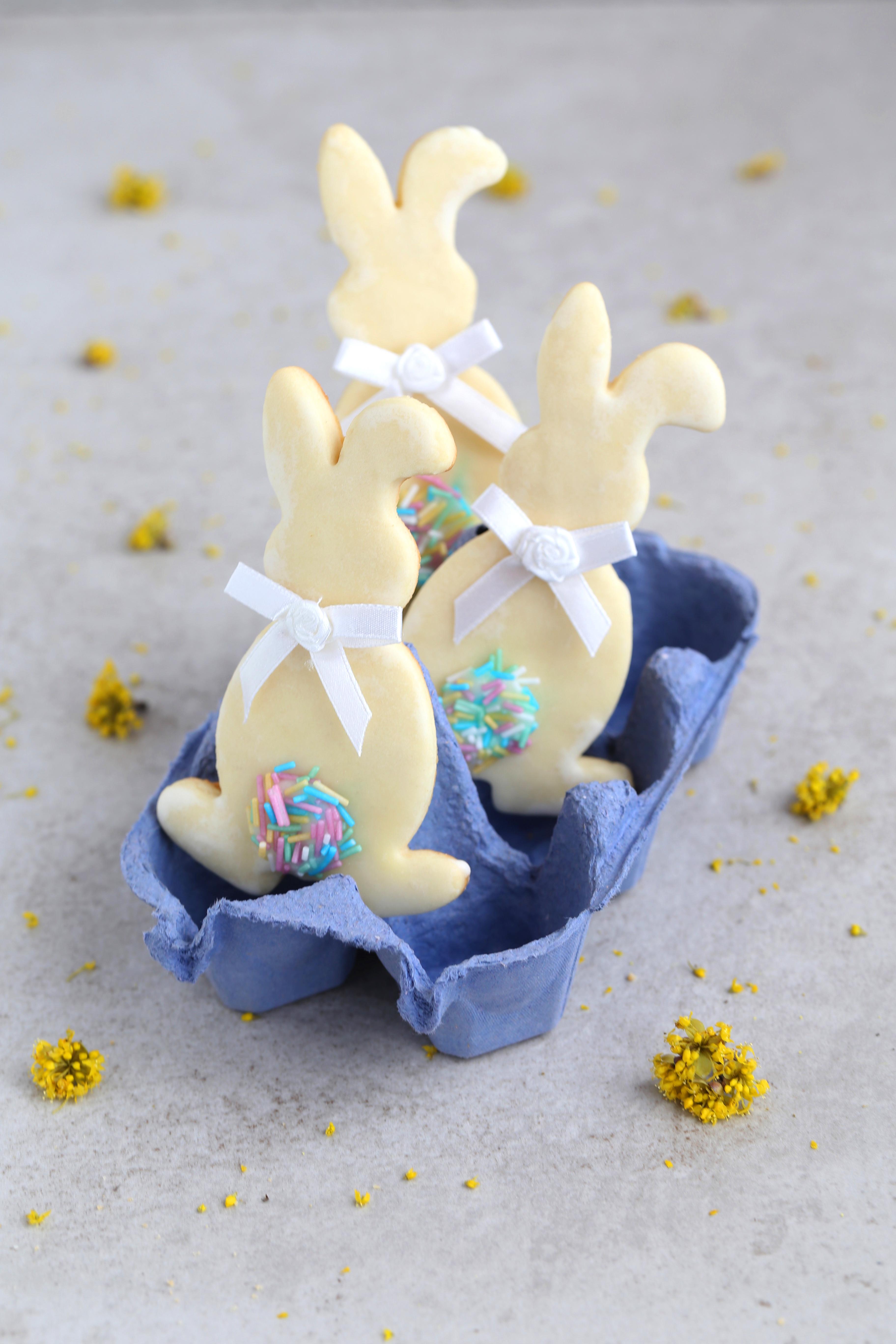 "Petits biscuits ""Lapins de Pâques"" - delimoon.com"