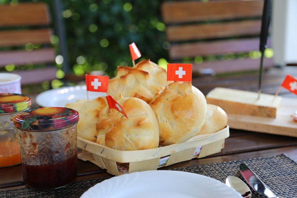 Petits pains du 1er août, jour de la Fête nationale suisse