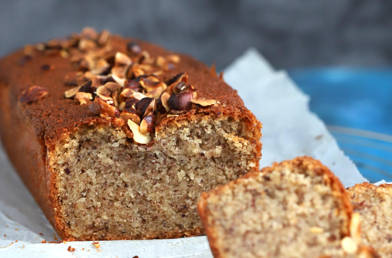 Cake financier aux noisettes - Delimoon.com