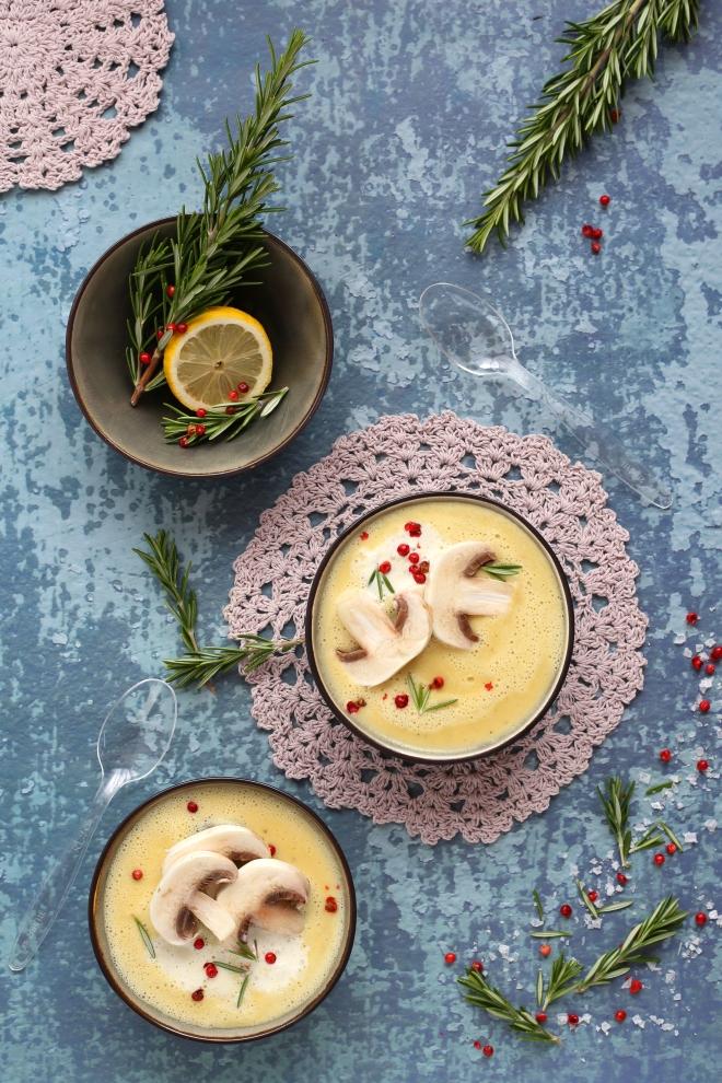 Soupe crémeuse aux lentilles jaunes - Delimoon.com
