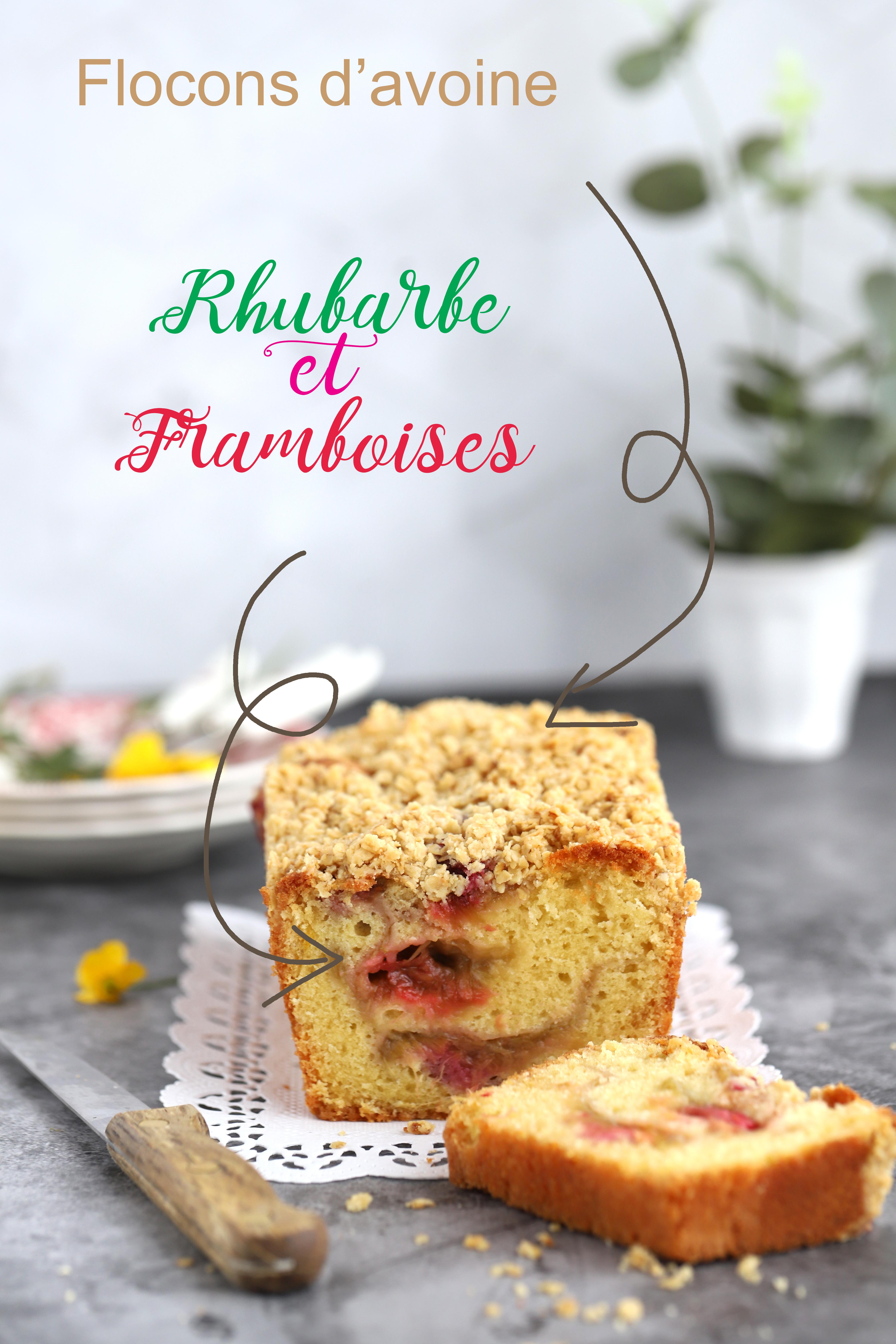 Cake à la fève tonka et compote de rhubarbe-framboises - delimoon.com